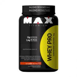 Imagem do produto Whey Pro 900g - Vitamina de Frutas